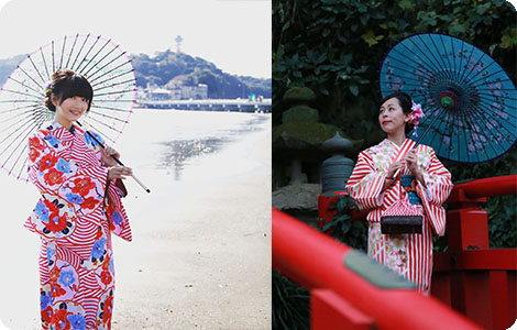 Legend of the Dragon God (Enoshima Kimono Rental)