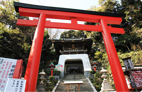 Enoshima Shrine Gatehouse